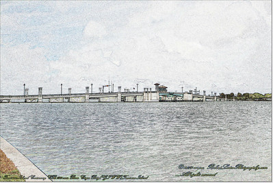 Florida Movable Bridges.....Treasure Island Causeway,CR 150 over Boca Ciega Bay(GIWW),Treasure Island
