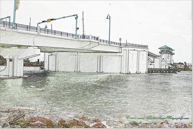 Florida Movable Bridges.....Johns Pass Bridge,SR 699 over Johns Pass,Madeira Beach-Treasure Island
