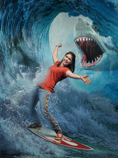 The danger of surfing