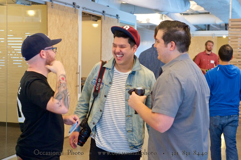 CreativeMornings/Orlando: Chance with Justin Mezzell
