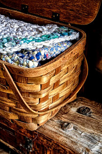 """A Basket of Treasures"" ~ Vance Birthpace, Weaverville, NC  ~ Editor's Pick 