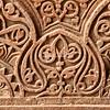 Wall pattern at Purana Qil, the Old Fort in Delhi, India