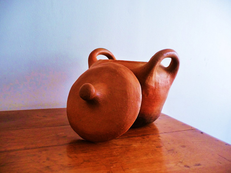 Wood and clay