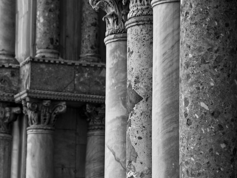 Columns, Venice, Italy
