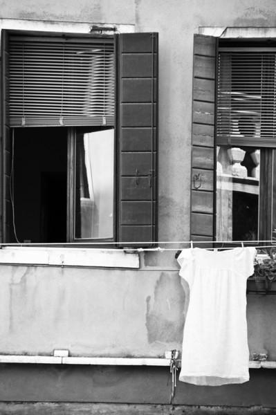 One White Dress, Venice, Italy