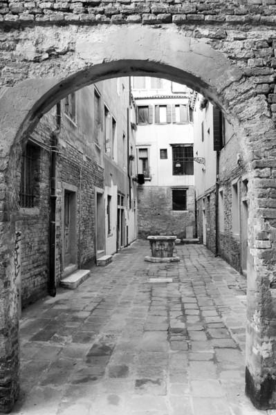 Courtyard, Venice, Italy