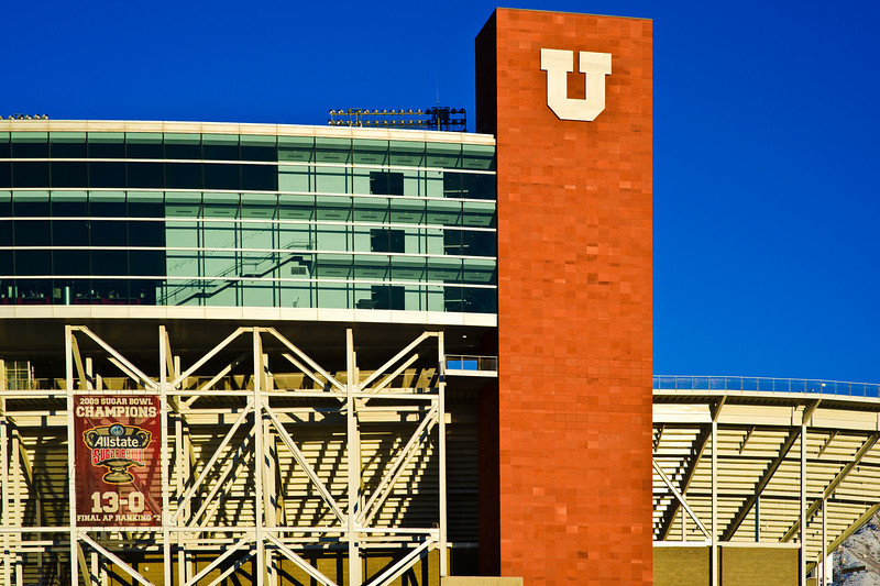 """University of Utah - Stadium - expansion for the 2002 Olympics by FFKR Architects -  <a href=""""http://www.ffkr.com"""">http://www.ffkr.com</a>"""