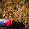 Diet Pepsi Can - wide open with a 50mm f1.4 lens - Wild Cherry.