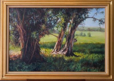 Wendy's painting-eucalyptus