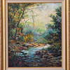 Wendy's painting-stream,acylic