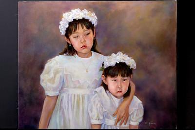 Kim's daughters