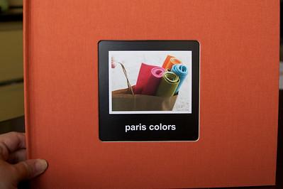 paris colors book