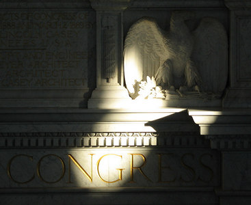 Eagle of the Library of Congress