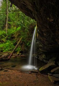 Stocking Creek Falls Behind
