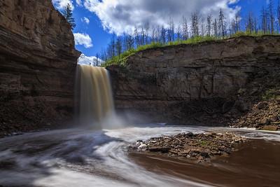 Little Buffalo Falls Left