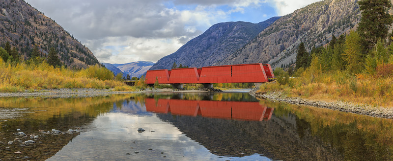 Keremeos Red Bridge Pano VII