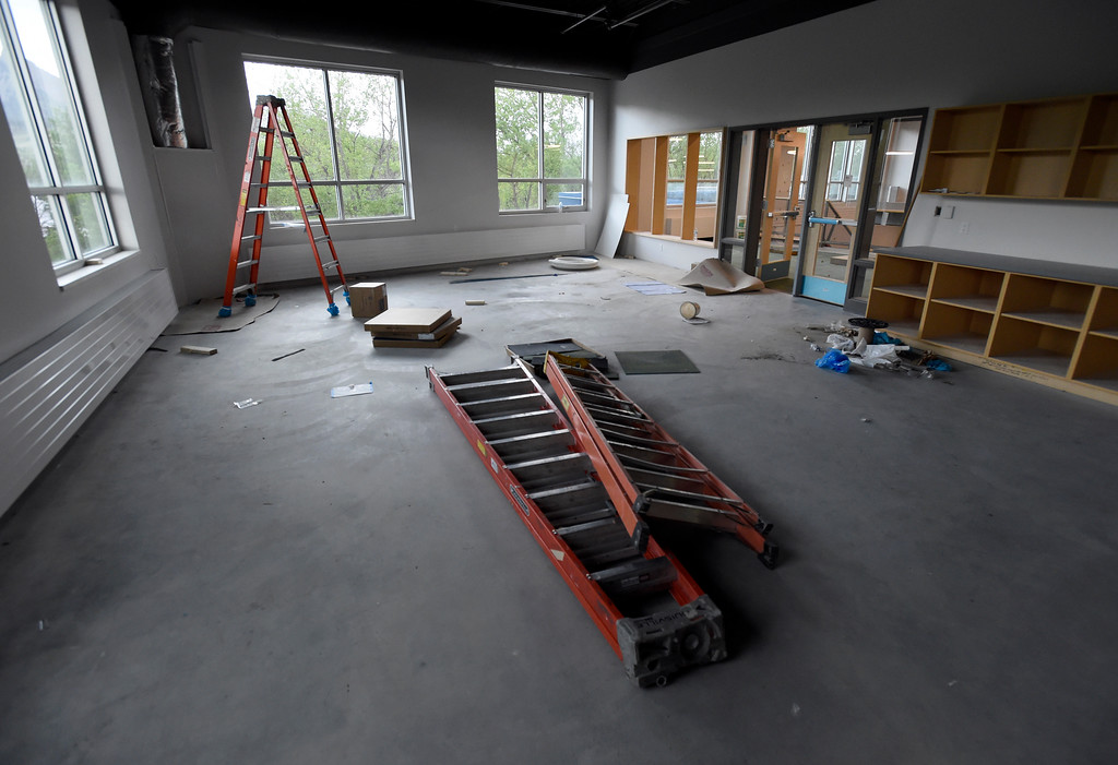 . The new art classroom under construction at Creekside Elementary School on Tuesday in Boulder. For more photos of the construction go to www.dailycamera.com Jeremy Papasso/ Staff Photographer/ May 16, 2017