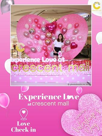 Crescent Mall Experience Love - Valentine's Activation Photobooth - Chụp hình in ảnh lấy liền Lễ Tình Nhân 2019 tại Crescent Mall