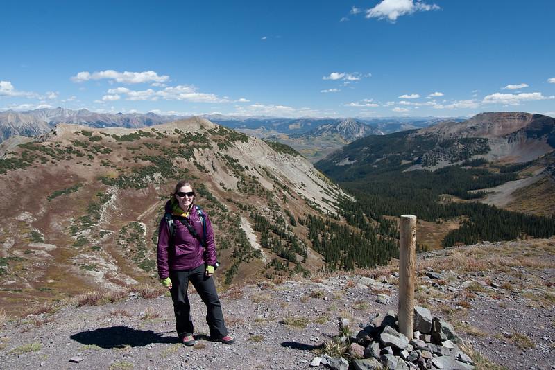 Top of the Scarp Ridge