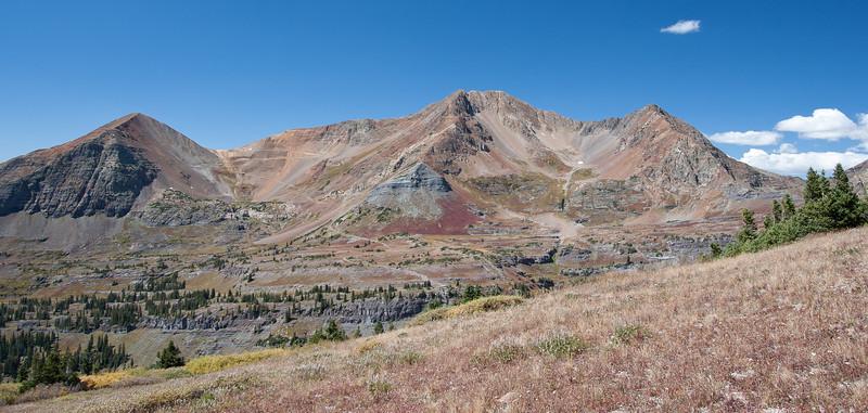 The Ruby Range - Mt Ruby, Mt Owen, Purple Peak