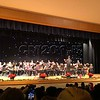 Braylon B. guest conducted at the concert for being the highest wreath sale in the middle school band.