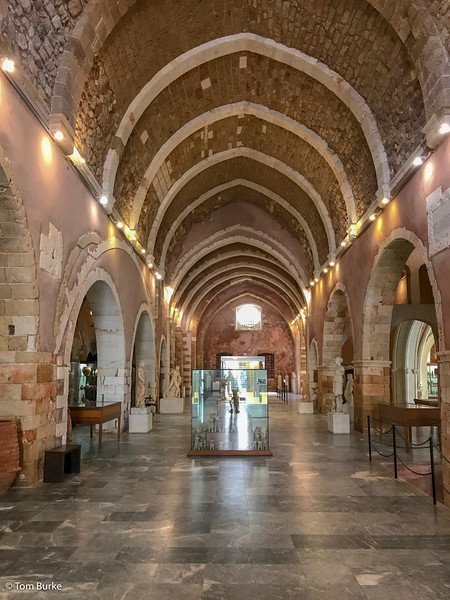 Museum interior, Chania
