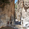 In the Samaria Gorge
