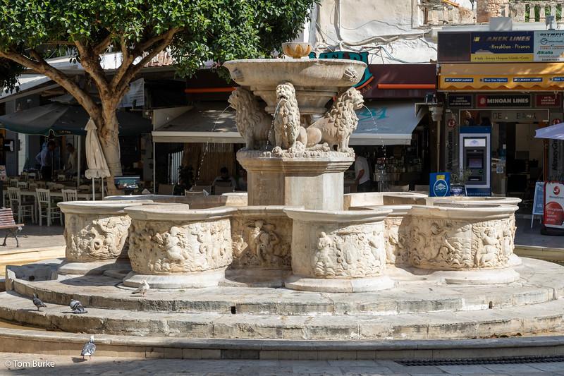 Morosini Fountain, Heraklion