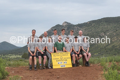 MPS Management Team went on a training hike to Lovers Leap to prepare for the summer.