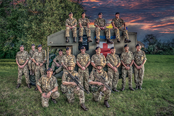 220 Medical Squadron Army Reserves - England