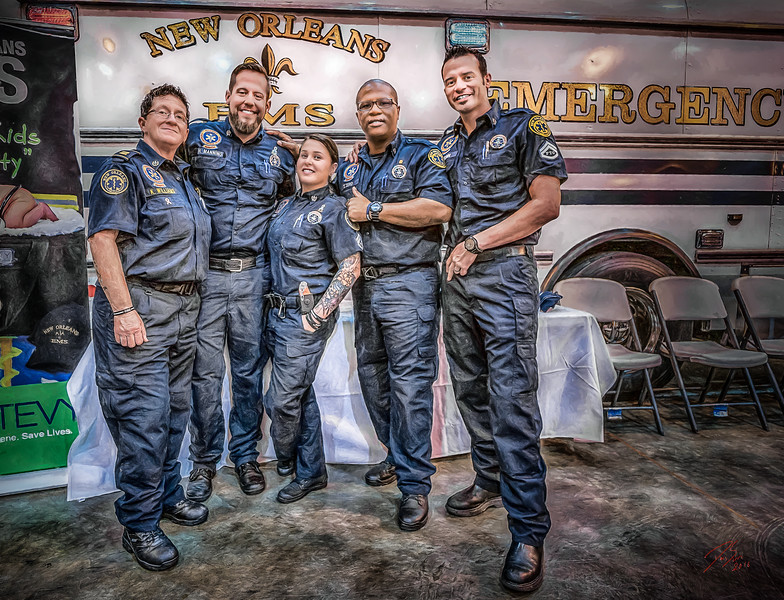 Nightwatch Crew - New Orleans, USA