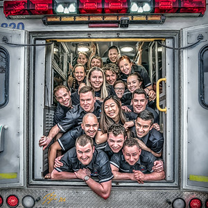 Paramedic Class - SAIT - Alberta, Canada