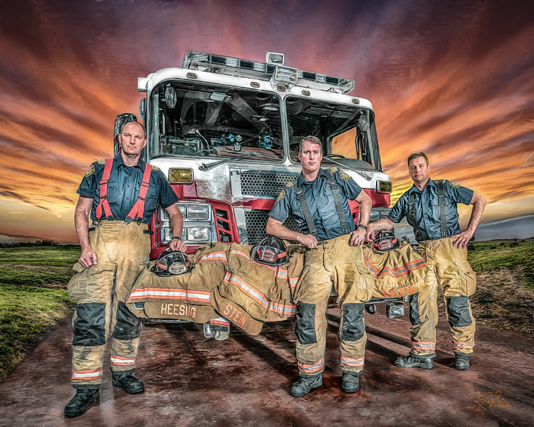 FSFD Officers - Alberta, Canada