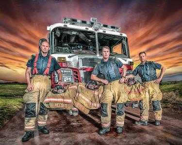 FSFD Officers - Alberta, Canada