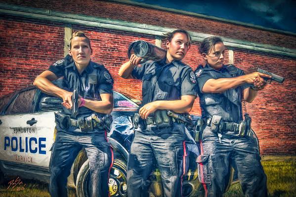 Police Women - Edmonton, Canada