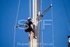 Crew up mast