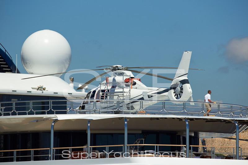 Helicopter on Katara