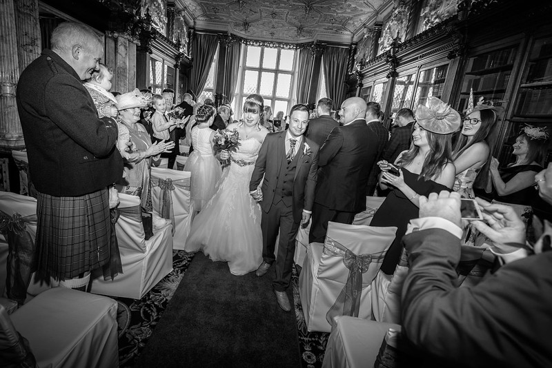 Crewe Hall wedding photographer - Adrian Chell Wedding Photography