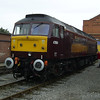 47854 is seen at Crewe Works OD on 11th September 2005