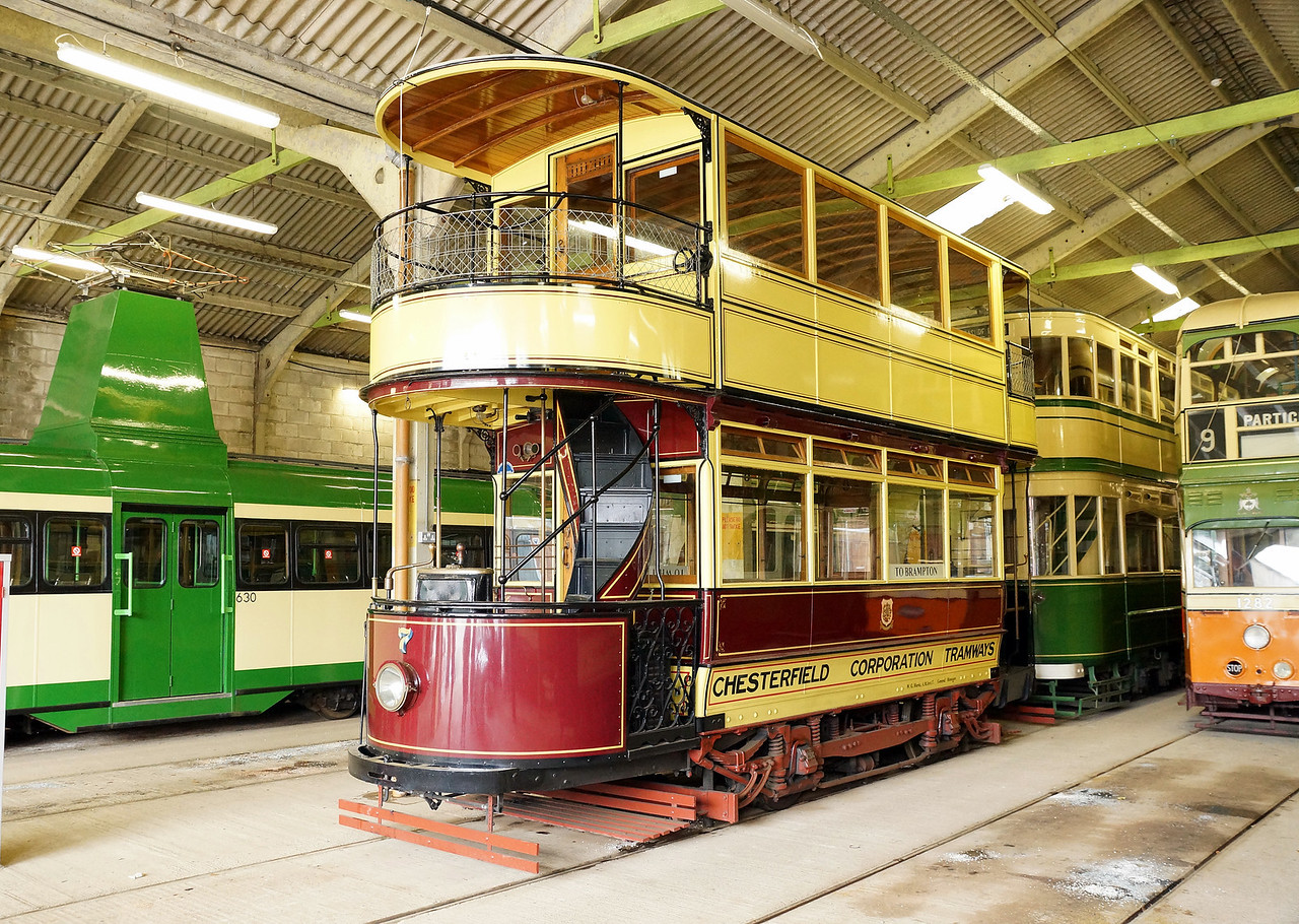 Chesterfield Corporation Tramways (7) 01,04,2013