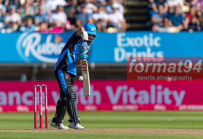 Moeen Ali batting for Worcestershire Rapids against Notts Outlaws in the Vitality Blast semi final, played at Edgbaston 21 September 2019. Photographed by Nigel Parker/format94