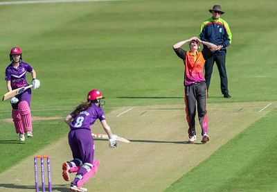 Lightning v Central Sparks in a Rachael Heyhoe Flint Trophy match played at the Fischer County Ground Leicester - 19 September 2020
