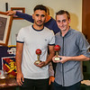 Idris and James - two hat tricks!
