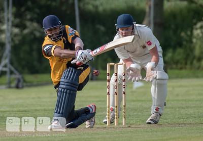 Bingham Cricket Club Select XI v Lashings All-Stars 27/05/2016