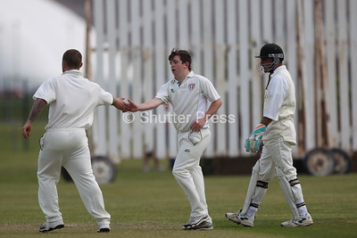 Wolviston 2nd XI vs Thornaby 2nd XI - Hornby Cup Final 2015
