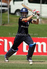 England's Caroline Atkins plays a cover drive on her way to 50 runs during the ICC Womens World Cup match between England and the West Indies, won by England at Drummoyne Oval on Tuesday 17th March 2009 Photo: © ROB SHEELEY / SMP IMAGES