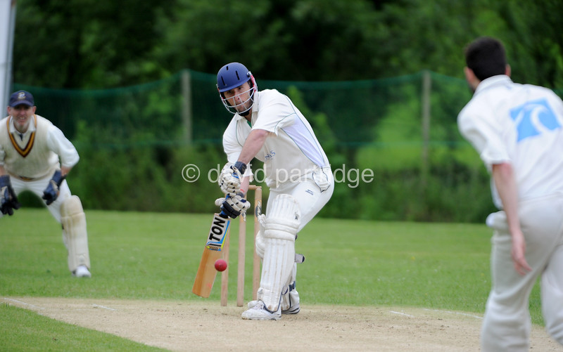 Dorset Cricket League First XI match between Martinstown CC v Swanage CC at Lower Ashton Farm, Martinstown, DORCHESTER, ENGLAND