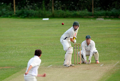 Dorset Cricket League First XI match between Martinstown CC v Broadstone CC at Lower Ashton Farm, DORCHESTER, ENGLAND
