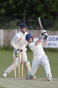 Shildon Railway CC vs Thornaby CC 2nd XI. Ken Welsh Cup Final  3rd June 2015.