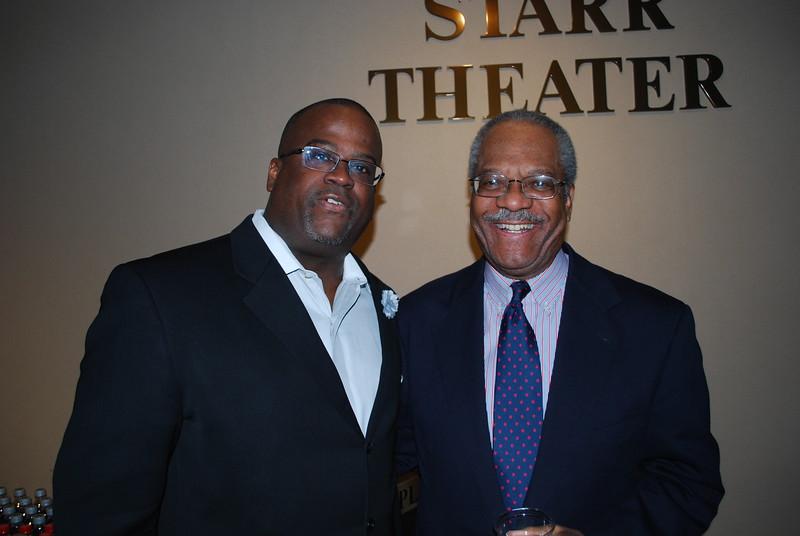 Dr  Paul D  Adams and Gerald Jordan